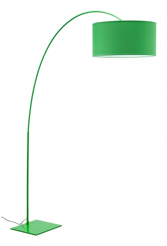 Lights and lamps product lights lamps range height 1980mm width 490mm dimensions 490x325mm colourmaterial green metal green drum shade aloadofball Choice Image