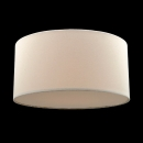 70cm Bordeaux Drum Shade Plain