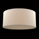 80cm Bordeaux Drum Shade Plain